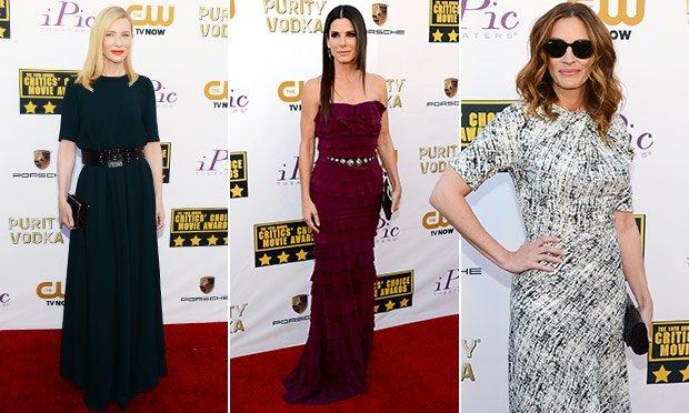 Critics Choice Movie Awards: os melhores looks das famosas | CLAUDIA