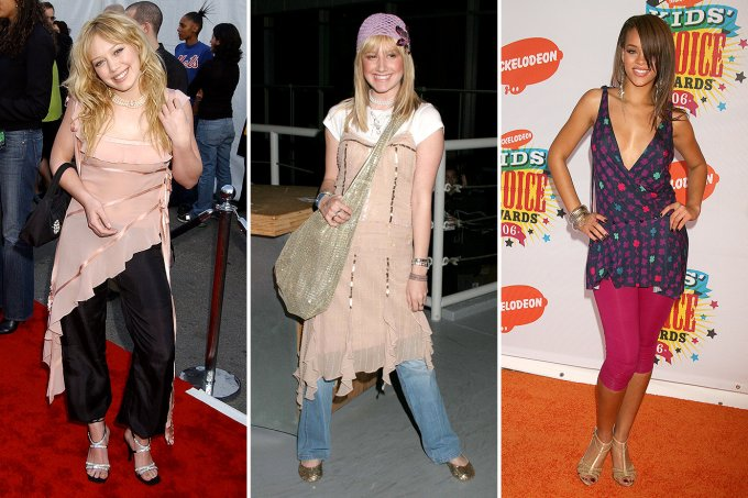 Hilary Duff, Ashley Tisdale e Rihanna
