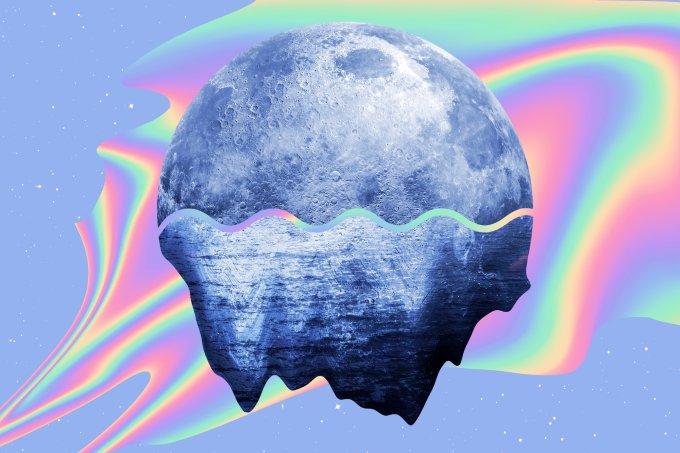 Lua em Aquário