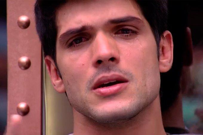 Lucas chora no BBB18