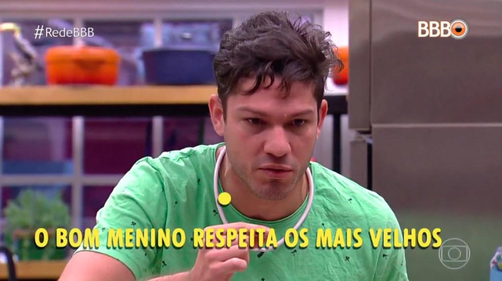 Luiz Felipe é um mau menino BBB17