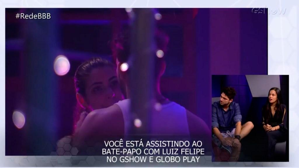 Luiz Felipe e Mayla BBB17