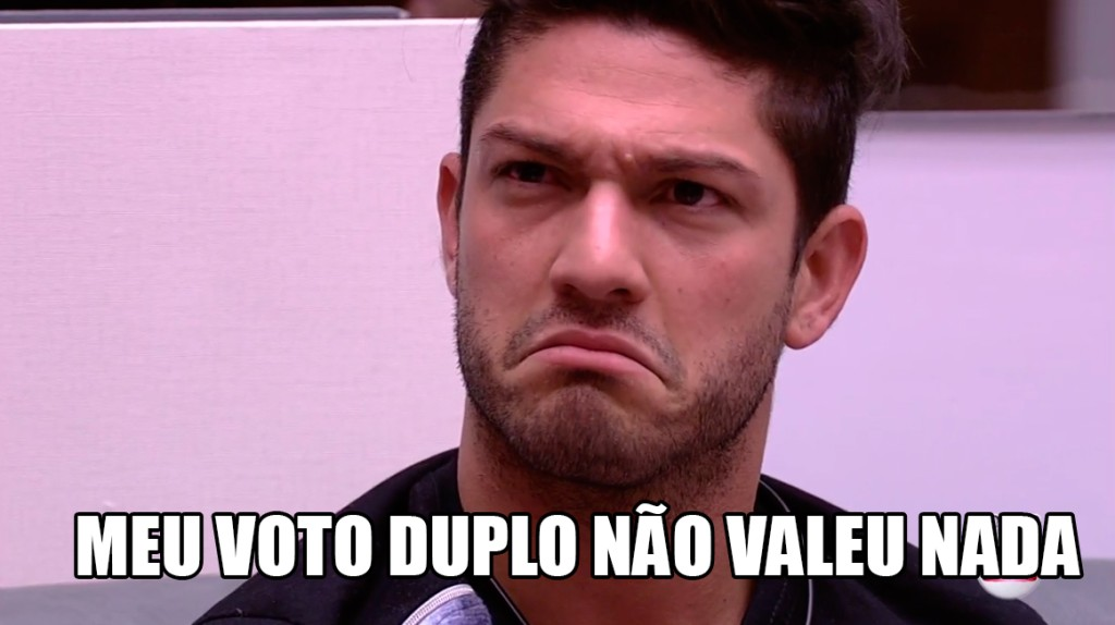 Luiz Felipe inutil no BBB17