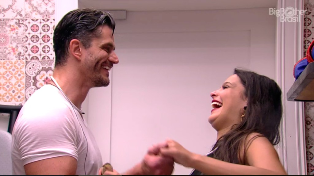 Marcos e Emilly no BBB17