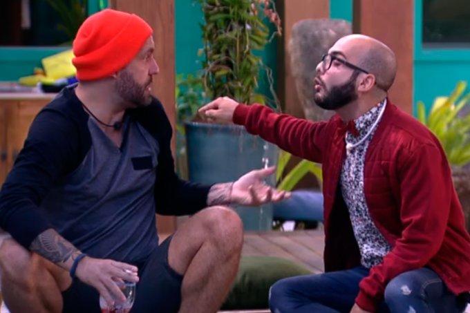 Mahmoud discute com Caruso BBB18