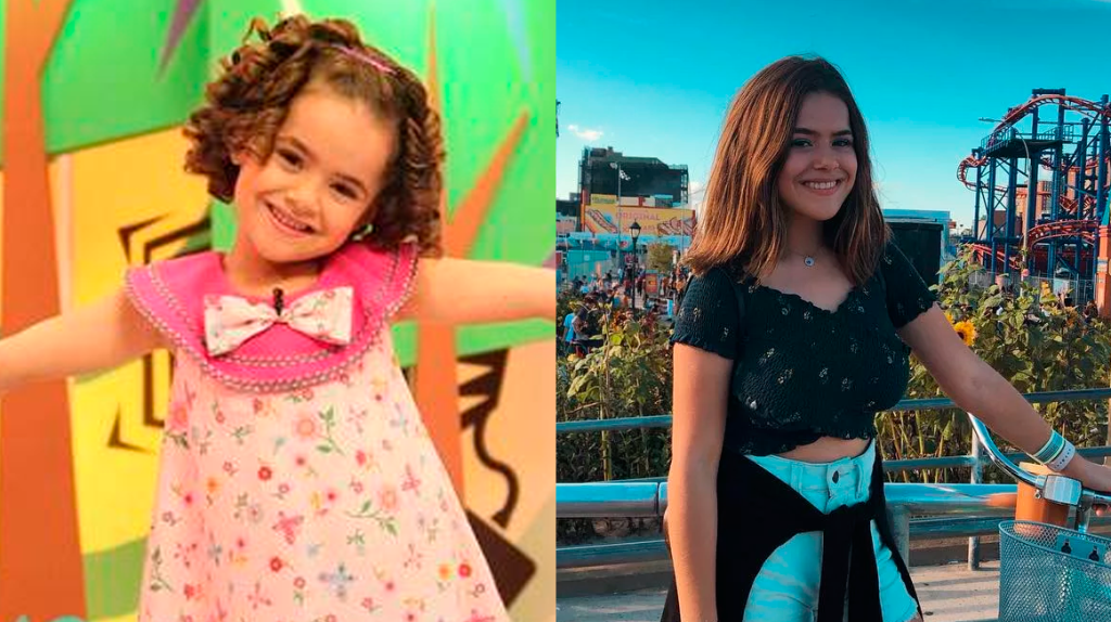 Maisa Silva, antes e depois