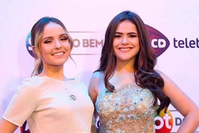 Maisa Silva e Larissa Manoela
