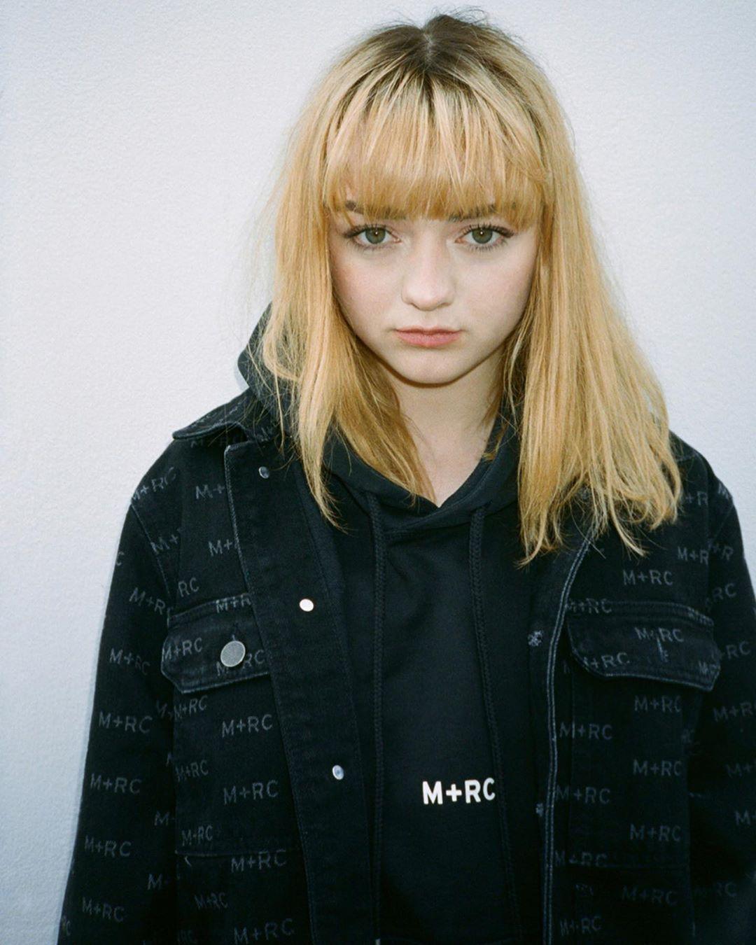 Maisie Williams cabelo novo