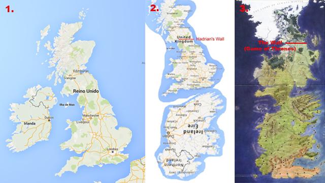 Google Maps e brilliantmaps.com