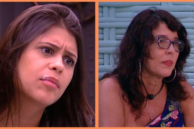 Mara e Ana Paula no paredão BBB18
