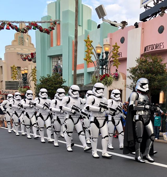 march of the first order star wars disney