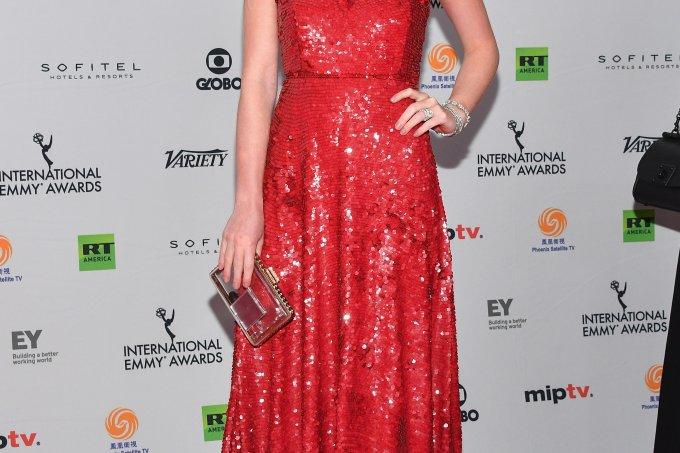 Marina Ruy Barbosa Emmy Internacional 2017