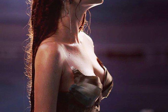 Marina Ruy Barbosa vestida de sereia