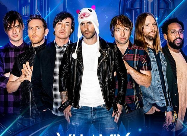 Maroon 5 no Villa Mix Festival
