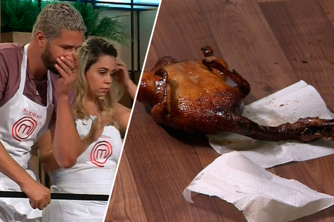 Pato caiu do MasterChef