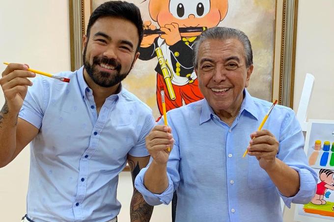 Mauro e Mauricio de Souza