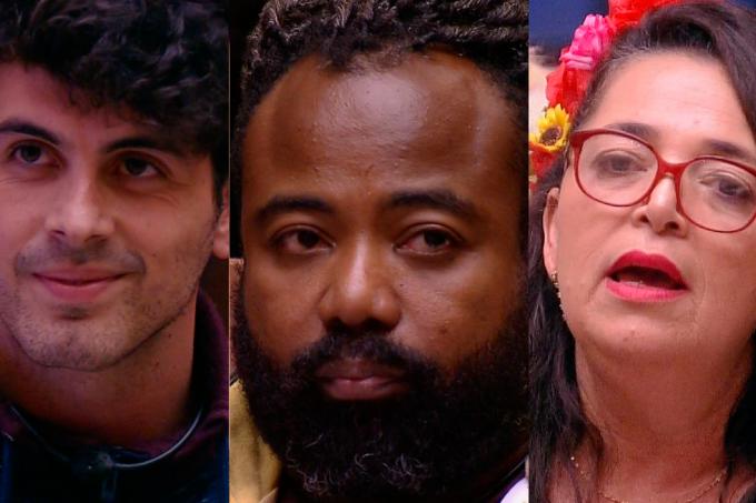 Maycon, Rodrigo e Tereza no BBB19