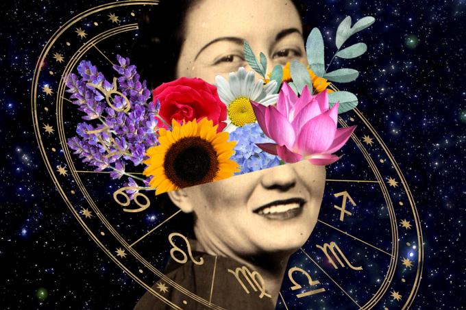 Flores dia das mães signos