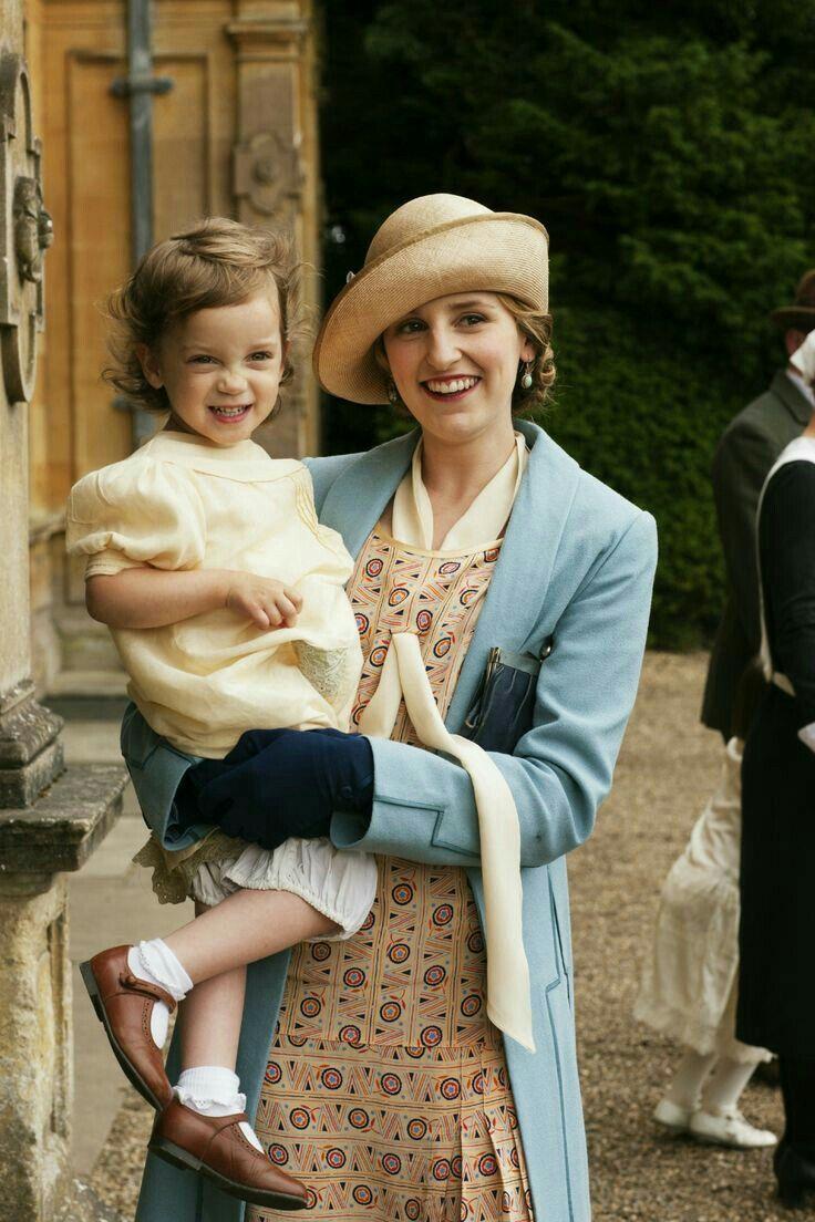Mães inspiradoras de séries de TV - Downton Abbey