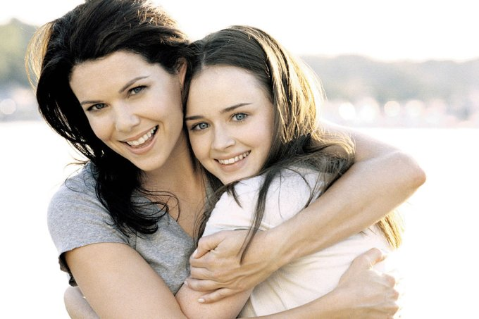 Mães inspiradoras de séries de TV – Gilmore Girls