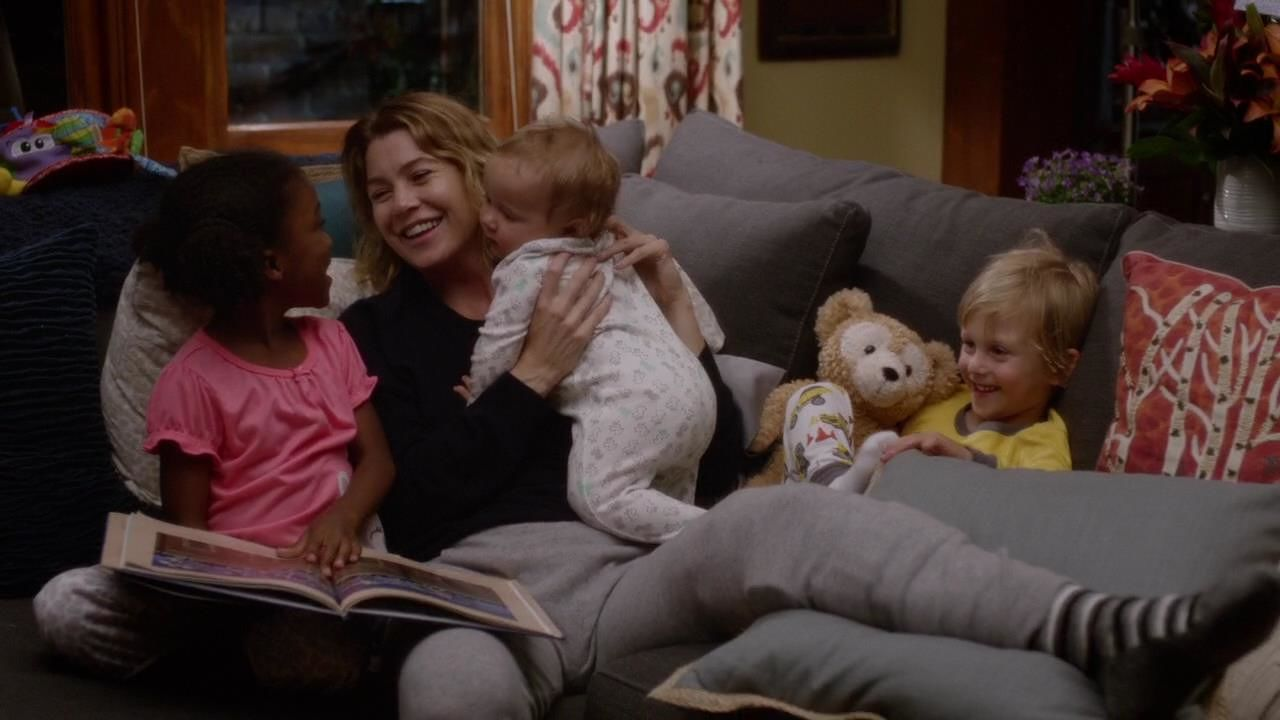 Mães inspiradoras de séries de TV - Grey's Anatomy