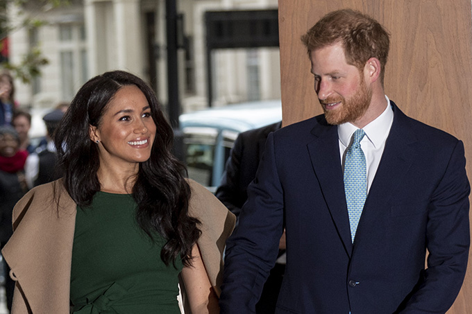 Meghan Markle e Principe Harry no WellChild Awards
