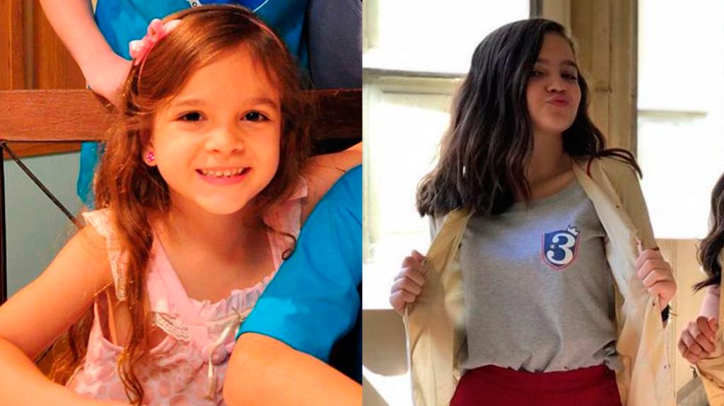 Mel Maia, antes e depois