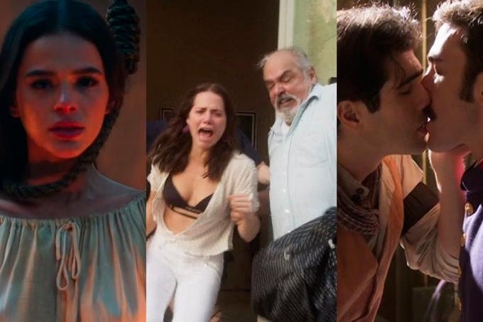 Melhores cenas das novelas em 2018.