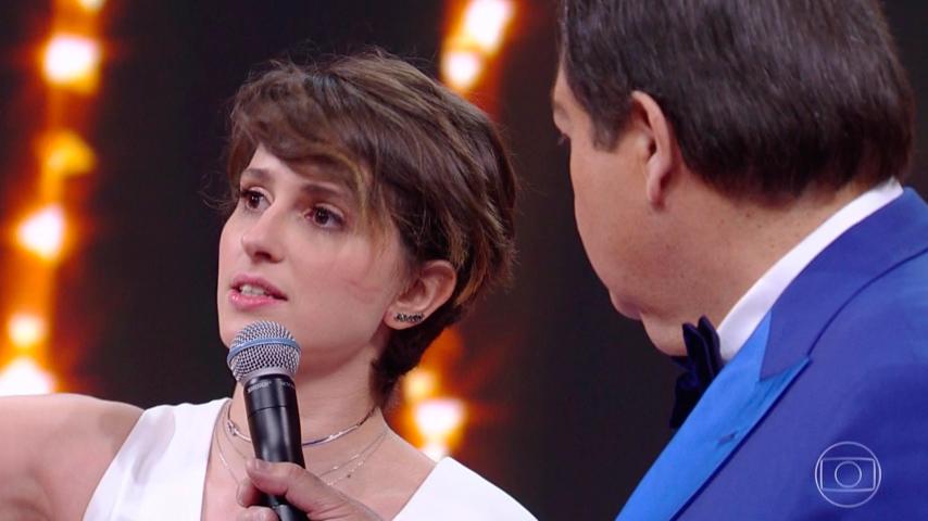 Melhores do Ano 2017, Carol Duarte recebe prêmio de atriz revelação