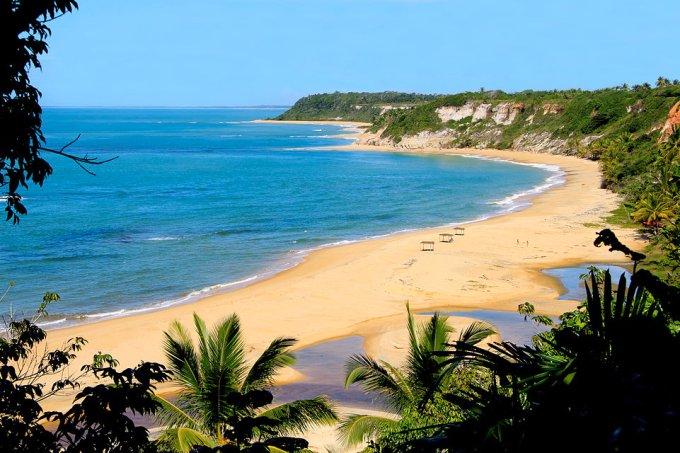 Melhores praias do Nordeste Praia do Espelho BA