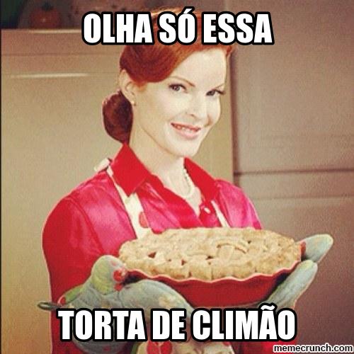 meme torta de climão