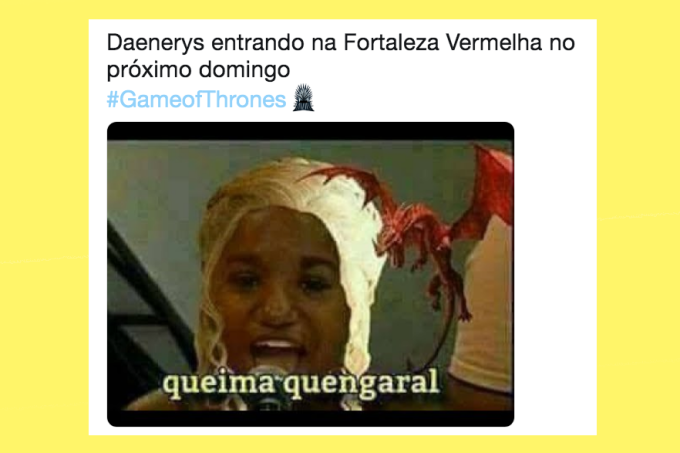Memes do quarto episódios de Game of Thrones