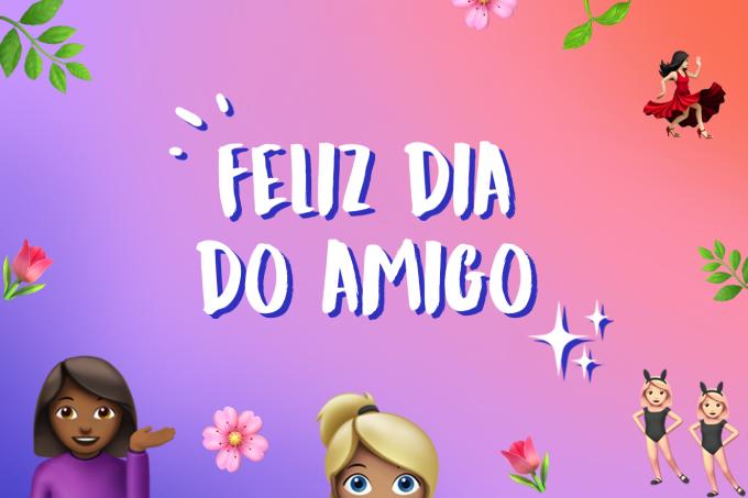 Mensagens de Feliz Dia do Amigo