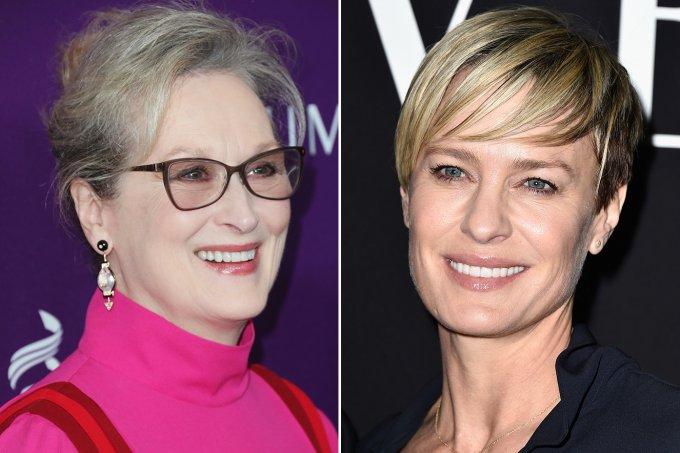 Meryl Streep e Robin Wright