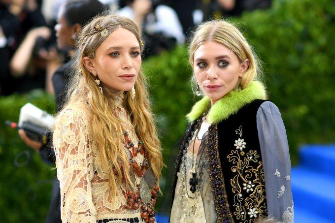 Mary-Kate e Ashley Olsen no MET Gala 2017