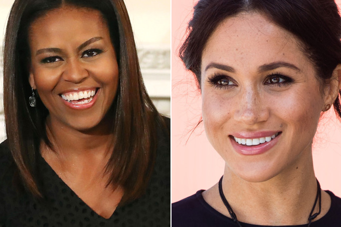 michelle obama e meghan markle