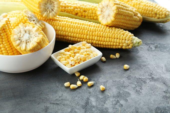 Receitas milho