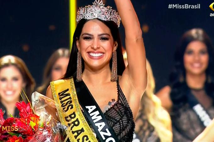 Miss Amazonas vence Miss Brasil 2018