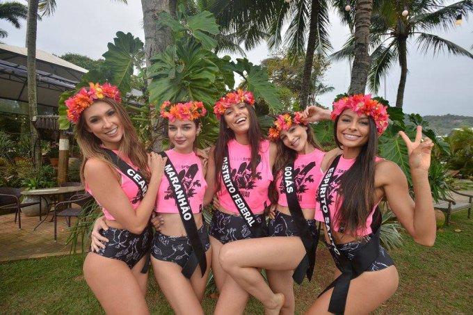 Candidatas ao Miss Brasil 2017