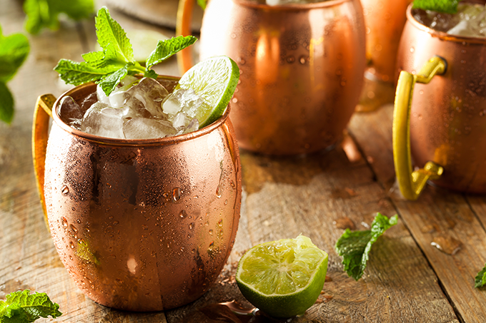 Moscow mule clássico