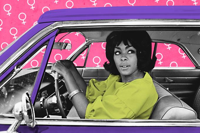 Mulher motorista