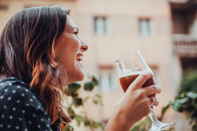Mulheres cervejeiras no Instagram