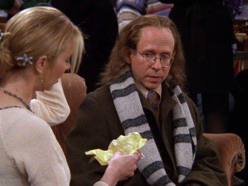 Phoebe e o pai Frank Buffay