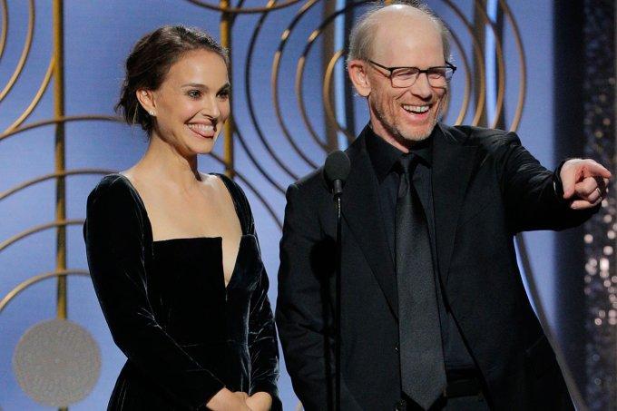 Natalie Portman e Ron Howard