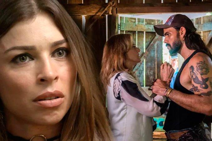 Resumo O Outro Lado do Paraíso, Lívia vê Sophia com Mariano