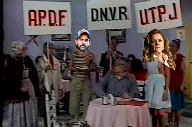 Resumo O Outro Lado do Paraíso, Mariano e Sophia protesto