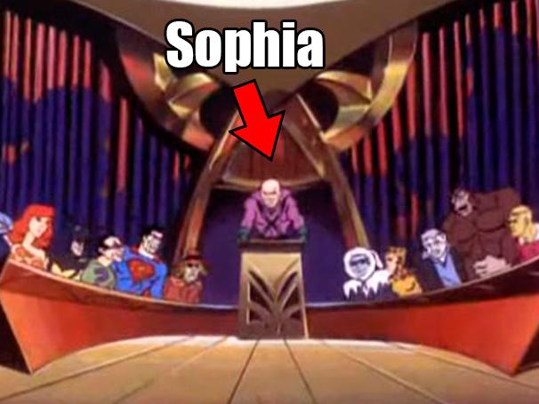 Resumo O Outro Lado do Paraíso, Sophia
