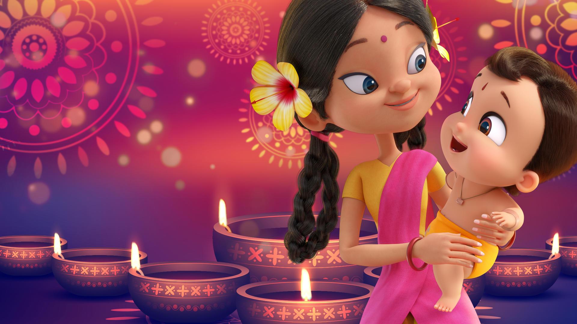 O Pequeno Poderoso Bheem - O Festival das Luzes