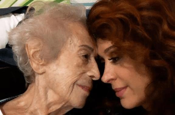 Odette e Cláudia Raia