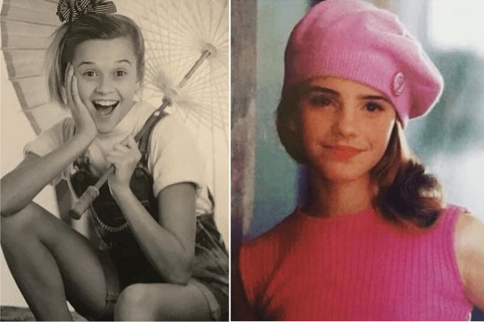 OldHeadShotDay celebridades compartilham fotos antigas nas redes sociais